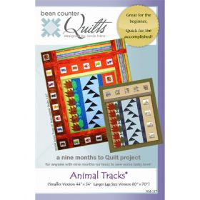 ANIMAL TRACKS QUILT PATTERN