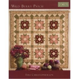 WILD BERRY PATCH QUILT PATTERN BOOK*