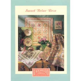 SWEET BRIAR ROSE QUILT PATTERN BOOK*
