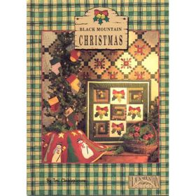 BLACK MOUNTAIN CHRISTMAS QUILT PATTERN BOOK*