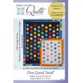One Good Twist Crip/Lap Quilt Pattern