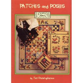 PATCHES & POSIES QUILT PATTERN BOOK*