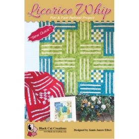 Licorice Whip Fun & Fast Project Quilt Pattern