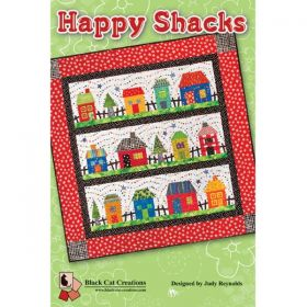 HAPPY SHACKS QUILT PATTERN
