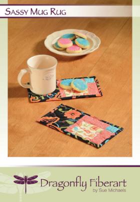 Sassy Mug Rug Quilt Pattern Card